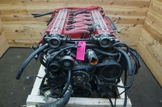 This is a complete drop-out engine assembly from a 2001 Dodge Viper GTS, the engine was checked before it was removed from the car and it appeared to be Viper Gts, Dodge Viper, Ram Srt 10, V10 Engine, Lotus Elise, Engines For Sale, Engine Swap, Modelos 3d, Sale On
