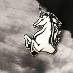 Heart Erection Design Unicorn Brooch   #streetstyle #brooklyn #NYC #hearterectiondesigns #hed #brooch #pin #acrylicpin #unicorn #punk #goth #alternative #edgy #cyber #rave