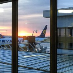 A gets a defrosting as the sun sunrises at Bradford this morning. Leeds Bradford, Yorkshire England, Travel Tourism, Airports, Sunrises, Airplane, Frost, United Kingdom, Aviation
