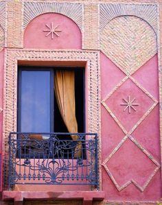 Window to Marrakech Art Print