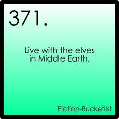 Fiction Bucket list!