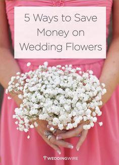 Easy wedding flowers