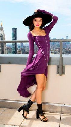 Editorial Photo Shoot #Fall  Peak Dress