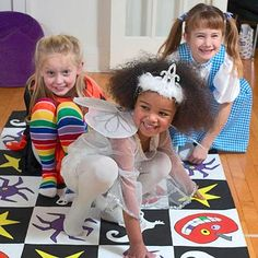 Frightfully Fun Halloween Party for Kids  DIY Twist and Shout Floor Game