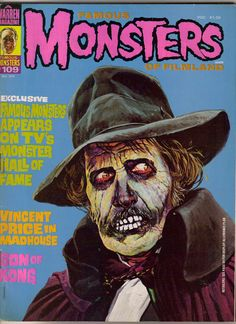 famous monsters magazine archives - Google Search