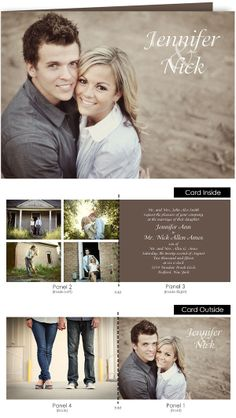 21 best folded wedding invitations images on pinterest gift tags