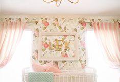 Project Nursery - Vintage Glam Nursery with Floral Wallpaper - Project Nursery Baby Girl Nursery Wallpaper, Nursery Room, Nursery Decor, Nursery Ideas, Floral Nursery, Chic Nursery, Whimsical Nursery, Wall Decor, Bedroom Kids