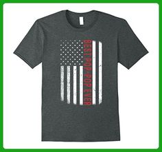 Mens American Red Best Pop-Pop Ever Flag T-Shirt Father's Day XL Dark Heather - Holiday and seasonal shirts (*Amazon Partner-Link)