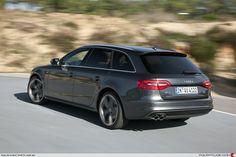Audi A4 Avant 2012 black ed