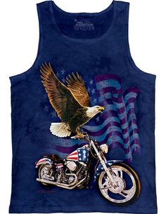 36f1f68975aad Blue Born to Ride Tee - Unisex. Tv RadioTv On The RadioEagle ShirtsBiker T  ShirtsAmerican Flag ...