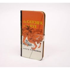 Catcher in the Rye Book Themed Phone Case for iPhone or Samsung | This unisex Catcher in the Rye book themed smartphone wallet for Samsung is the perfect gift for book lovers or literary geeks - male or female! This vintage book style Samsung cover doubles as a wallet for men or women. Total book porn! <3 book art. #bibliophile