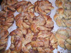 Real Danish pastries from Torvehallerne, Copenhagen, Denmark