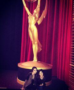 """#TelevisionAcademy """"Last night"""" posted by Vanessa Marano and Laura Marano"""