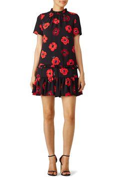 Black Poppy Dress by kate spade new york
