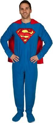 Gift Idea: Superman Caped Footie Pajamas #pintowinGifts @Gifts.com