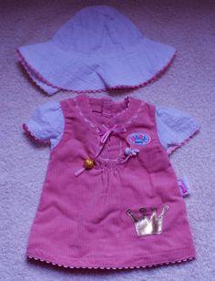 Puppenkleidung - original Baby Born (42 cm) Sommerkleid paßt auch Baby Annabel in Spielzeug, Puppen & Zubehör, Babypuppen & Zubehör | eBay!