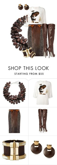 """Skirt and Boots 2"" by hope-houston on Polyvore featuring Nest, Dolce&Gabbana, Sergio Rossi, Kenneth Cole and Cartier"
