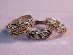 Wire Wrapped Ring Directions | From My Knot a Ring Tutorial #wireringsdesigns