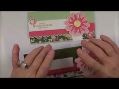 "This is another video from my ""Wow That's Cool"" Video Series. This money card holder is made using the Stampin' Up! Flower Patch Stamp Set. These money cards are the cards that I made for my 2014 card swaps for convention.As always a complete supply list can be found on my blog @ http://craftyandcreativeideas.blogspot.com/2014/07/2014-convention-money-card-swap.html"