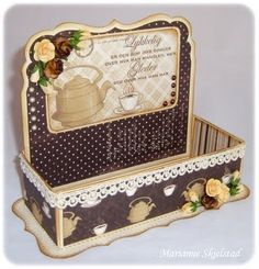 tea box....cute as display to put tea bags in
