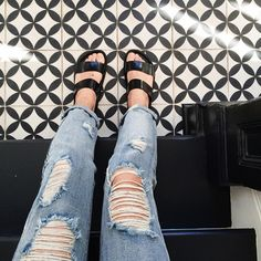 Victor with the All Torn Up Boyfriend Jeans || Get the jeans: http://www.nastygal.com/lookbooks/all-torn-up-boyfriend-jeans?utm_source=pinterest&utm_medium=smm&utm_term=ngdib&utm_content=nasty_gals_do_it_better&utm_campaign=pinterest_nastygal
