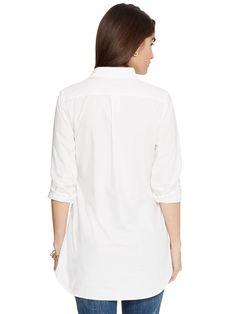 Женская рубашка Ralph Lauren Cotton Poplin Tunic