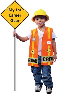 My First Career Gear - Road Crew Toddler Costume