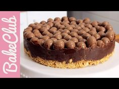 Maltesers No Bake Cake | BakeClub - YouTube