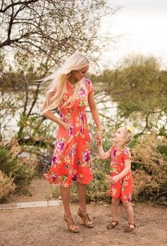 Mommy Dark Coral Floral Midi Dress Dress Floral Dress Cap Sleeve dress Mommy and Me Matching Ryleigh Rue Clothing Online Boutique Online shopping Boutique Fashion Style Mommy And Me Outfits, Kids Outfits, Girls Party Dress, Girls Dresses, Midi Dresses, Party Dresses, Cap Dress, Midi Dress With Sleeves, Matching Outfits