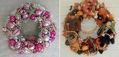 fall and Christmas wreath