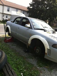 Wide fender flare DIY project pictures step by step Diy Projects Pictures, Wheel Flares, Wide Body Kits, Fender Flares, Car Stuff, Honda, Ship, Cars, Autos