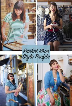 A style profile on Rachel Khoo. I deconstruct Rachel's amazing fashion sense into 'lookbooks' and give tips on recreating her signature look.