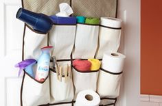 6 Uses for a Hanging Shoe Organizer
