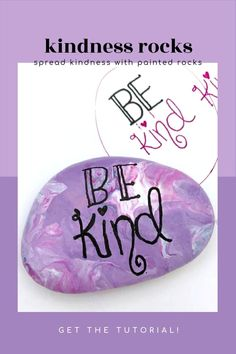 Learn how to paint kindness rocks with these tips and tricks. We have loads of video tutorials that walk you through how to hand letter, create base coats, and even seal your rocks. Perfect for hiding around your city or giving as a gift, to brighten someone's day. #kindness #spreadkindness #paintedrocks #rockpainting101 What Is Kindness, Kindness Rocks, Dot Painting, Stone Painting, Rock Sayings, Rock Painting Designs, Painted Sticks, Beautiful Rocks, Rock Design