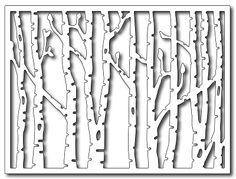 Frantic Stamper - Precision Dies - Horizontal Birch Panel
