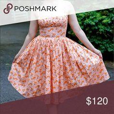 Bernie Dexter Paris doc print dress Excellent condition, bust 34-35, waist 30. ModCloth Dresses