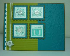 PPA107 cQc98 SUO Lucky Island Thanks by dahlia19 - Cards and Paper Crafts at Splitcoaststampers