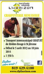 Formation comme charpentier menuisier