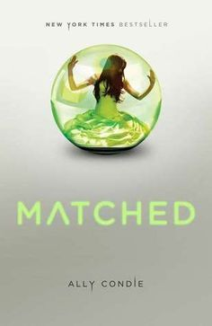 Matched by Ally Condie **** Cassia has always trusted the Society to make the right choices for her: what to read, what to watch, what to believe. So when Xander's face appears on-screen at her Matching ceremony, Cassia knows with complete certainty that he is her ideal mate... until she sees Ky Markham's face flash for an instant before the screen fades to black.