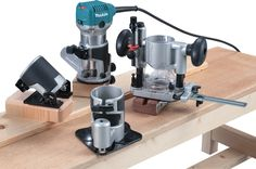 Makita is on a roll this week, releasing several new tools to the market. This time it's the new Makita HP Compact Router. Makita Power Tools, Garage Tools, Espresso Machine, Compact, Coffee Maker, Kitchen Appliances, Woodworking, Cool Stuff, Workshop