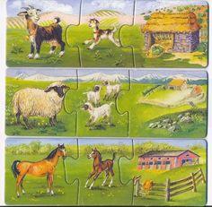 Játszva megismerjük a háziállatokat - szélike - Picasa Web Albums Animals For Kids, Farm Animals, Animal Crafts, Drawing For Kids, Life Skills, Playroom, Kindergarten, Projects To Try, Horses