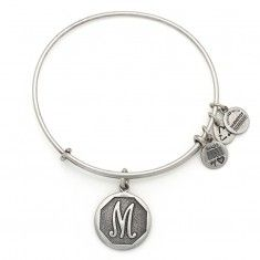 Initial M Charm Bangle Come check out our selection of Alex and Ani @ Jim Kryshak Jewelers in Wausau, WI.