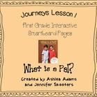 Journeys Unit 1 Lesson 1 Smartboard First Grade Teaching Reading, Guided Reading, Teaching Ideas, Learning, Journeys First Grade, Journeys Reading Series, Smart Board Lessons, Common Core Ela, Daily 5