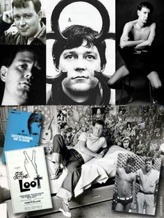 """John Kingsley """"Joe"""" Orton (Jan. 1, 1933 – Aug. 9, 1967) was an English playwright & author. His public career was short but prolific, lasting from 1964 until his death. During this brief period he shocked, outraged, and amused audiences with his scandalous black comedies like Loot & Entertaining Mr. Sloan. He was bludgeoned to death with a hammer by his lover, Kenneth Halliwell, who then committed suicide with an overdose. Gary Oldman portrayed Orton in the 1987 film Prick Up Your Ears."""