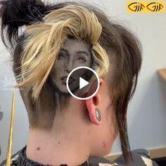 GIF Beautiful hairstyle on her head Awkward Funny, Awkward Moments, Laughing So Hard, Mens Sunglasses, Hairstyle, Animated Gif, Tattoo, Beautiful, Art