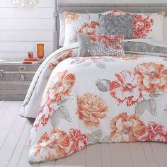 3-Piece Golden Peony Comforter Set