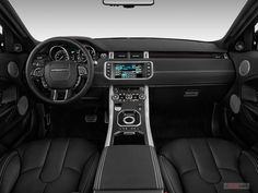 2015 Land Rover Range Rover Evoque Interior | U.S. News Best Cars