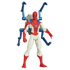 Marvel Amazing SpiderMan 2 Spider Strike Blade Arrow SpiderMan 375 Inch Figure ** More info could be found at the image url.