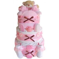 Baby nappy cake great for mum to be hospital gift by Bexsgifts, £40.00