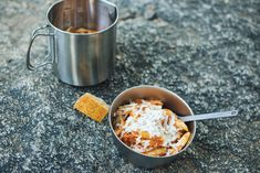 3 Pumpkin Recipes to Spice Up Your Next Backpacking Trip. Pack in sweet, creamy flavor with these fall-inspired recipes. Pumpkin Recipes, Fall Recipes, Great Recipes, Snack Recipes, Backpacking Food, Camping Meals, Camping Recipes, Pumpkin Pasta, Diy Snacks